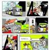 Werkdruk bij de buschauffeur, flyer.. (ACV Vervoer)