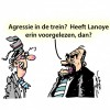 Agressie in treinen.. (Passe-Partout)